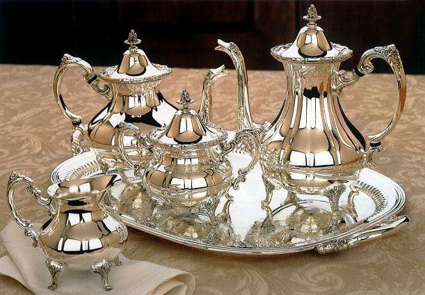 Wmf Tea Service 4 Pieces Era Vintage 1910 1950 Inspiration. 5 Piece Princess Tea Coffee Set Silver Plated ... & Silver Plated Tea Service | Zef Jam