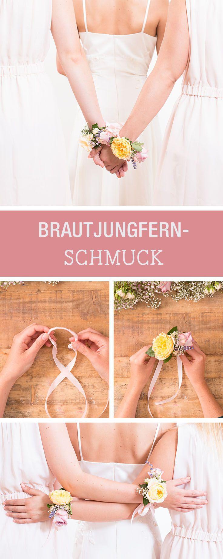 Photo of DIY Instructions: Flower Arrangement for Bridesmaids / DIY flower …