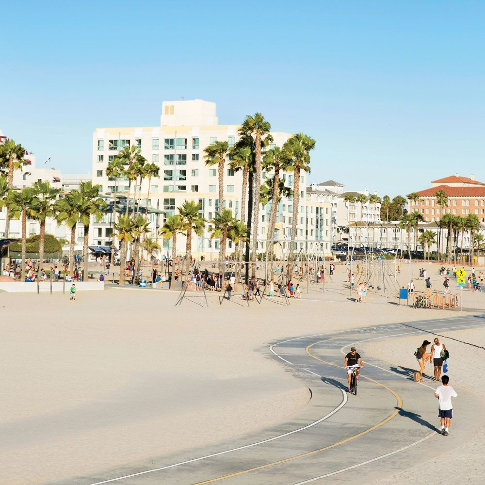 A Bike Ride Along Santamonicabeach Is One Of The Best Free Thingstodo In Our Beach City Activities Travel Destination
