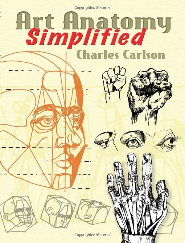 Art Anatomy Simplified (Dover Anatomy for Artists ...