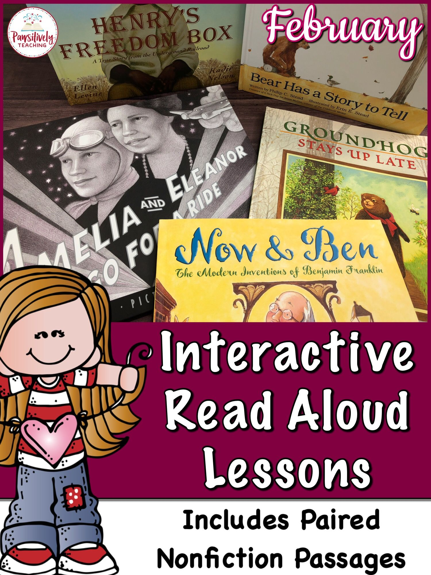 Interactive Read Aloud Lessons Amp Paired Passages February