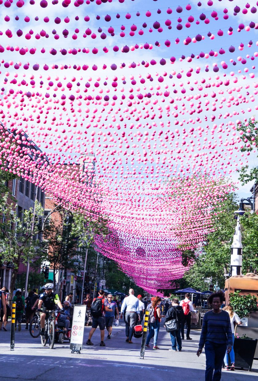 Gay Village in Montreal