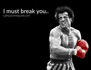 Rocky Balboa I Must Break You Epic Dialogue Movie