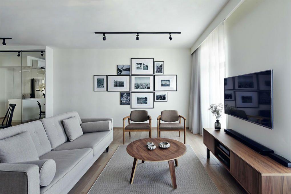 HDB Flat At Ang Mo Kio By Prozfile | Design | Pinterest | Living Rooms, Room  And Interiors