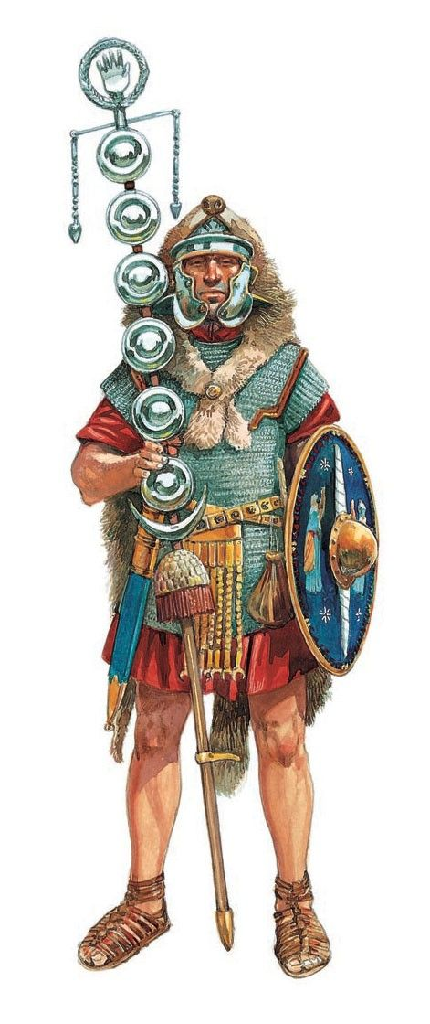 Stendardi legioni romane