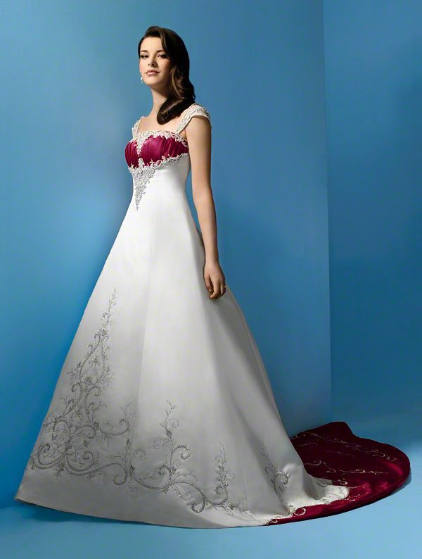 Alfred angelo dream in color wedding dress