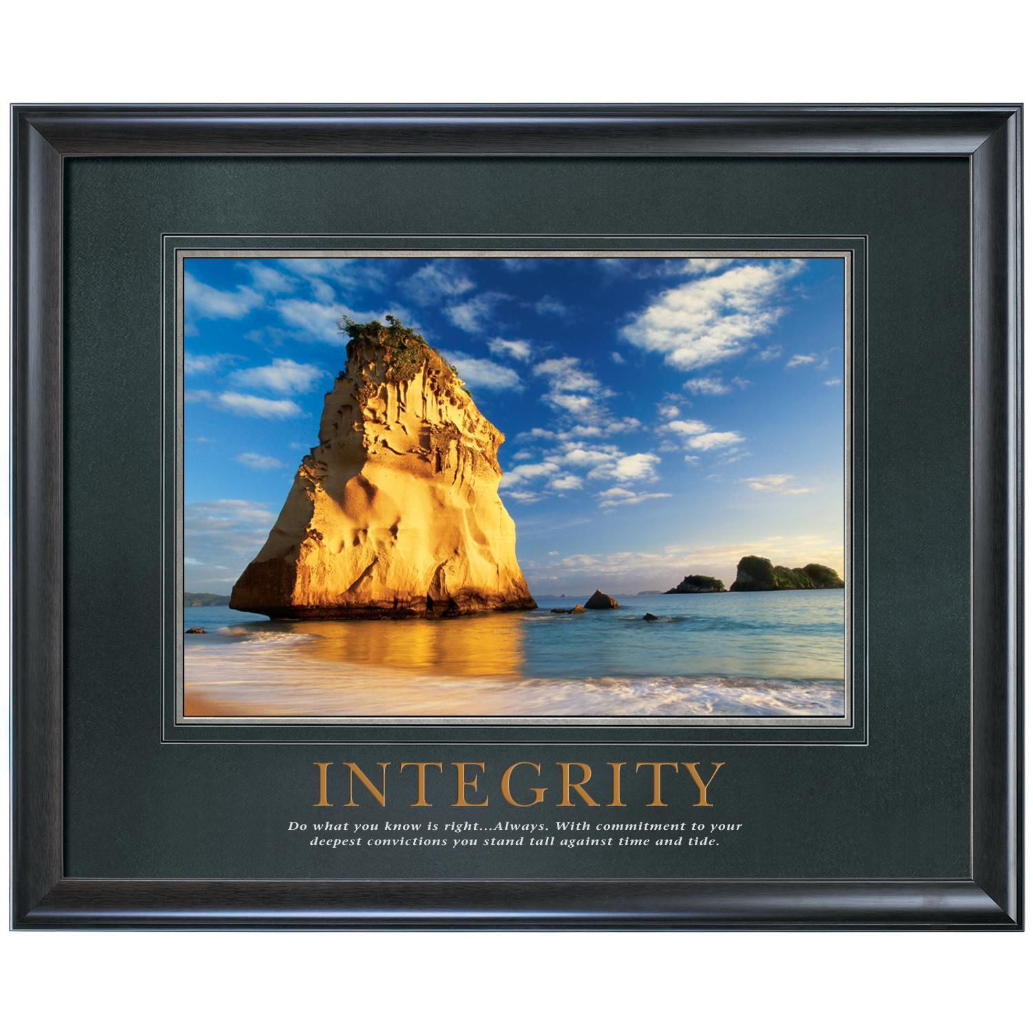 Integrity cathedral rock motivational poster humor pinterest integrity cathedral rock motivational poster jeuxipadfo Image collections