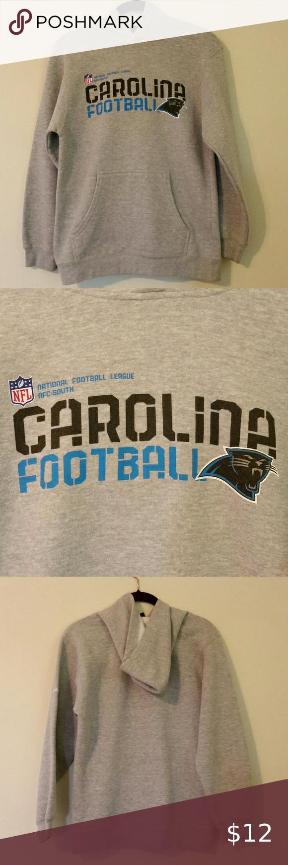 Nfl Reebok Panthers Hoodie In 2020 Nfl Shirts Sweatshirts Hoodie Top Shirt