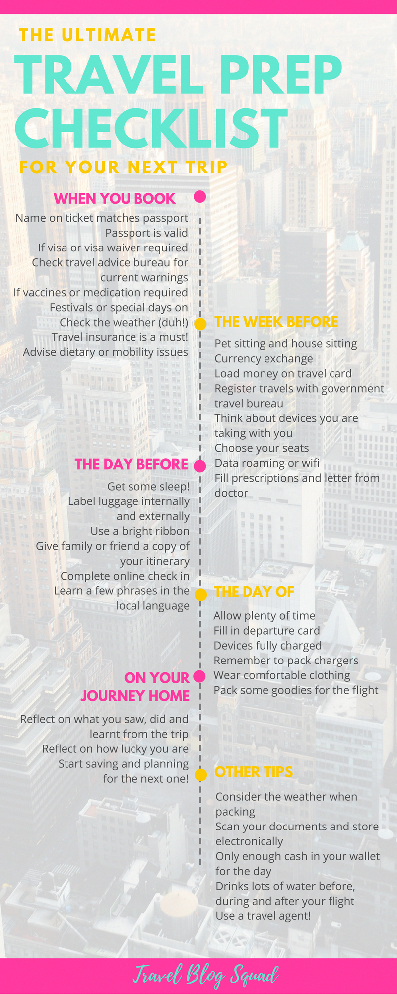 The Ultimate Travel Prep Checklist To Prepare For Your
