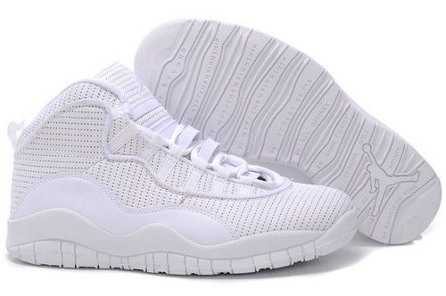 Air Jordan 10 shoes-Cheap Men\u0027s Nike Air Jordan 10 Shoes All White 10 Shoes  For Sale from official Nike Shop.