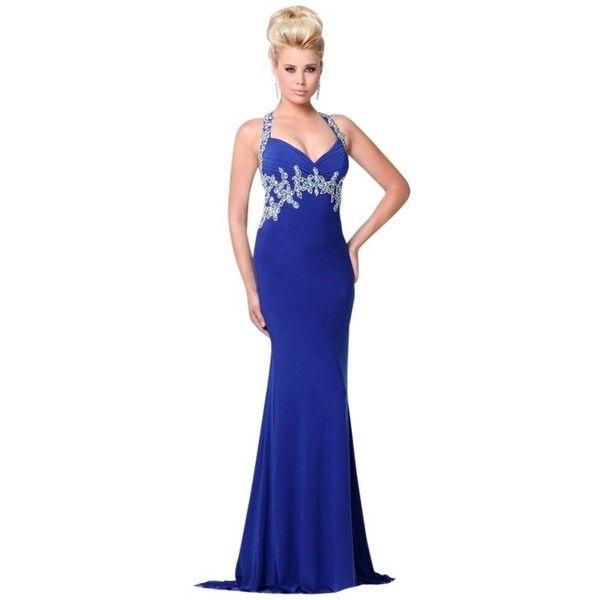 Tony Bowls Prom Dresses Halter Top