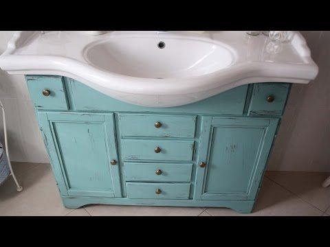 Shabby Bagno ~ Tutorial per creare mobile bagno in stile shabby chic. irma sironi
