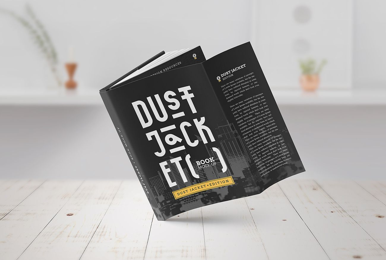 Book-mockup-dust-jacket-002 | BOOK COVER | Pinterest