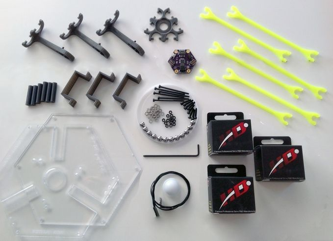 A do it yourself delta robot kit thats fun to build sharp to look a do it yourself delta robot kit thats fun to build sharp to solutioingenieria Image collections