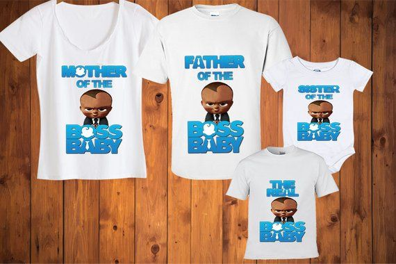 5c79b47c Boss Baby birthday shirt will be made with the name and age requested  during check out. Personalized requests can be included in the Notes to  Seller section ...
