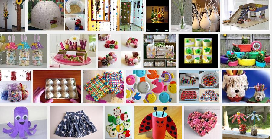 Manualidades con reciclable ideas para el hogar - Decoracion con reciclaje para el hogar ...