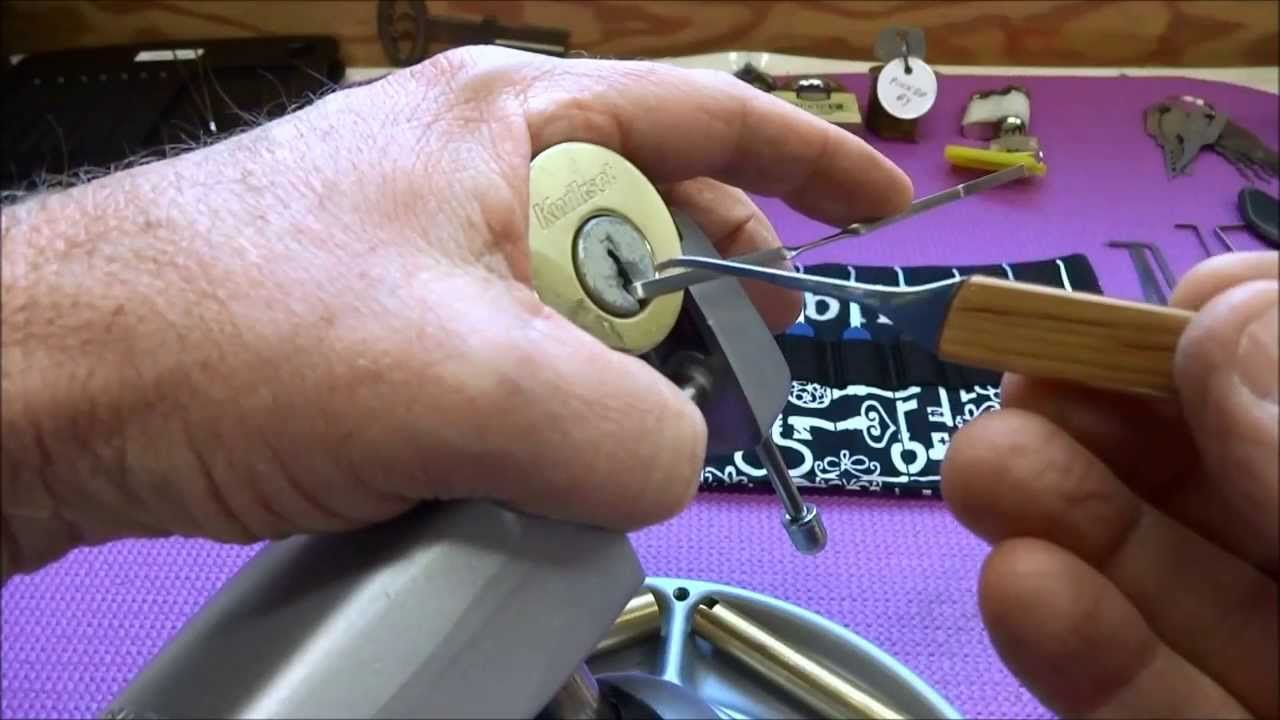 how to pick a deadbolt lock with a card
