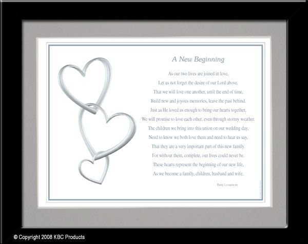 A new beginning poem. Remarriage | Quotes | Pinterest | Poem