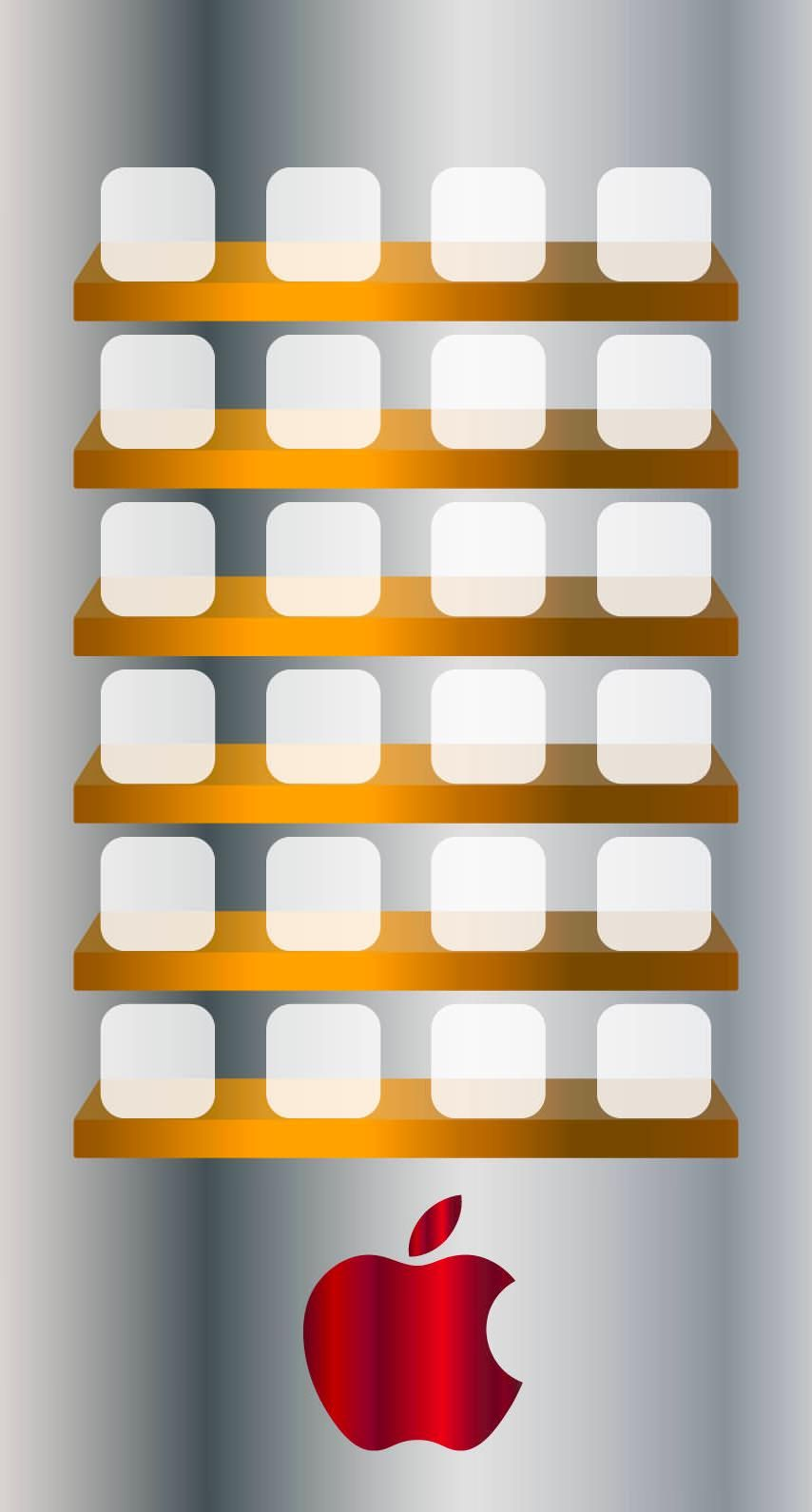 Apple Logo Shelf Cool Wallpaper Sc Iphone6s Apple Logo Wallpaper Iphone Wallpaper Shelves Apple Logo Wallpaper