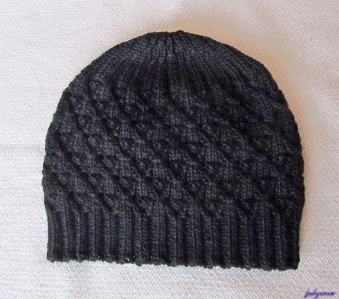 Мои   вязалки Мужская шапка из Regia Journal 002 Highland Tweed, модель R0055. Пряжа 100% шерсть.
