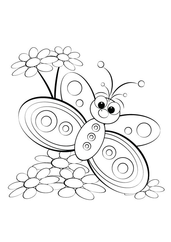Butterfly Coloring Pages for Kids top 22 butterfly Coloring Sheets Your Kid Will Be Love Of 50 Free Printable butterfly Coloring Pages for Kids