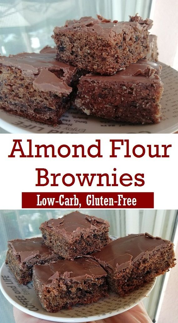 Almond Flour Low-Carb Brownies