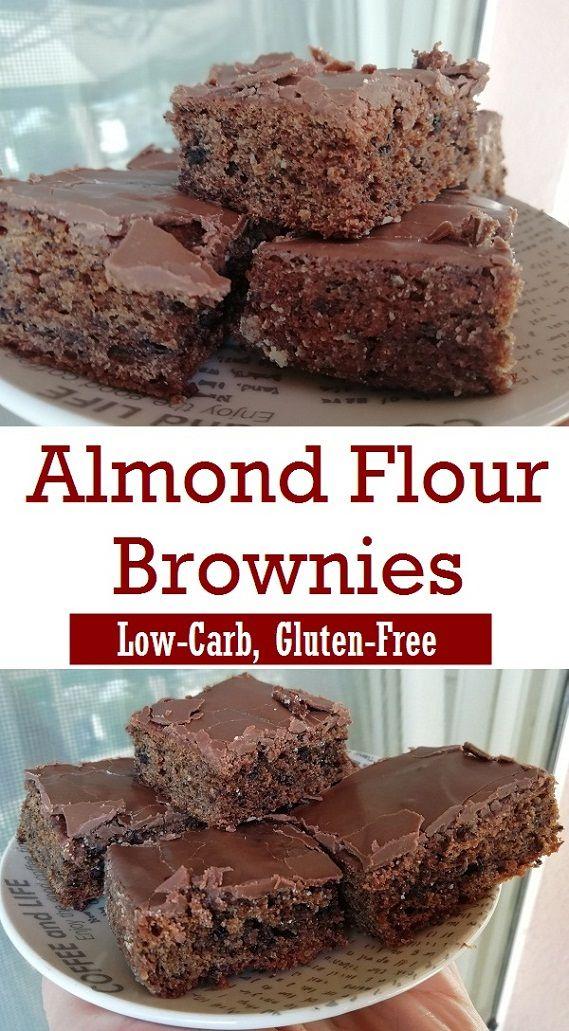 Keto Brownies With Almond Flour Gluten Free Recipe Almond