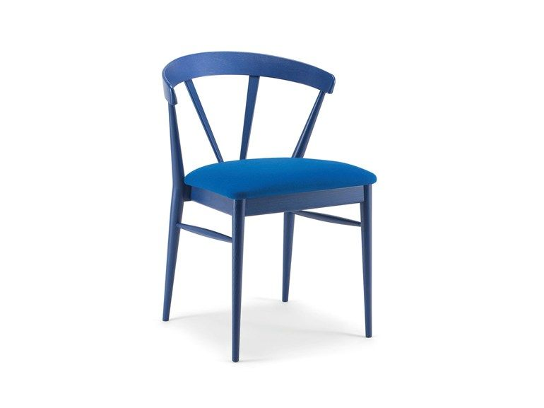 Cizeta Sedie ~ Upholstered stackable chair ginger premium collection by cizeta