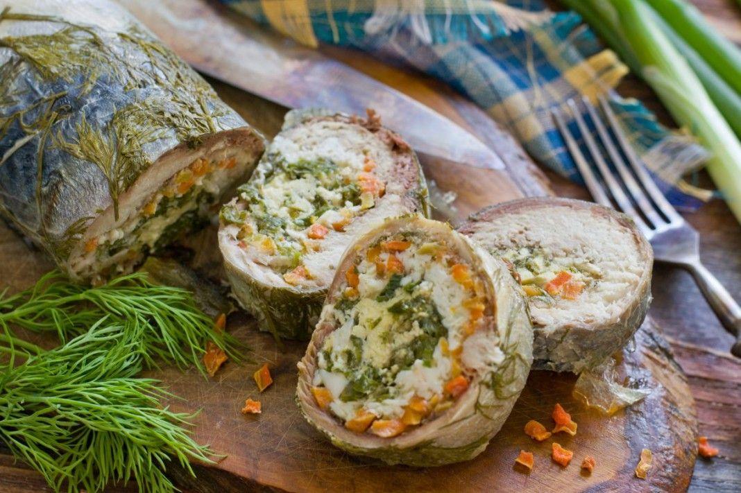 Мясные и рыбные рулеты рецепты с картинками