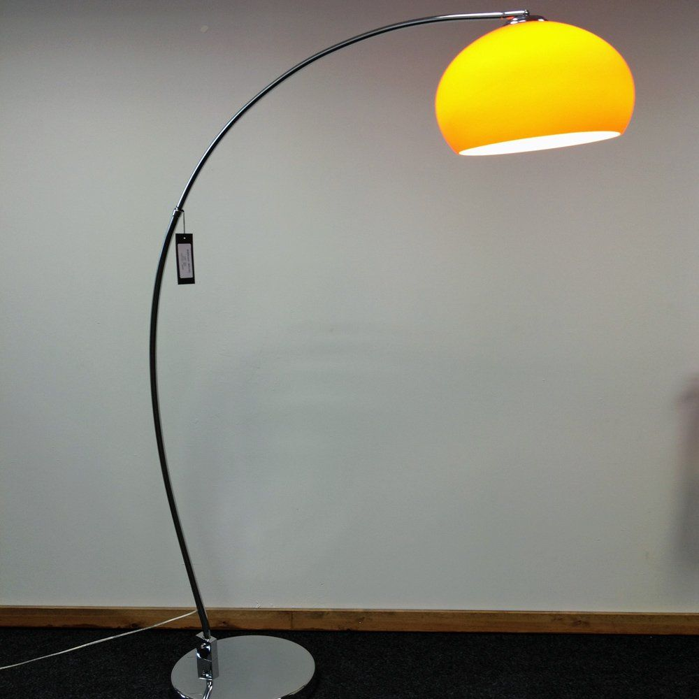 Retro Lighting Lrfloororange 1 Light Modern Floor Lamp