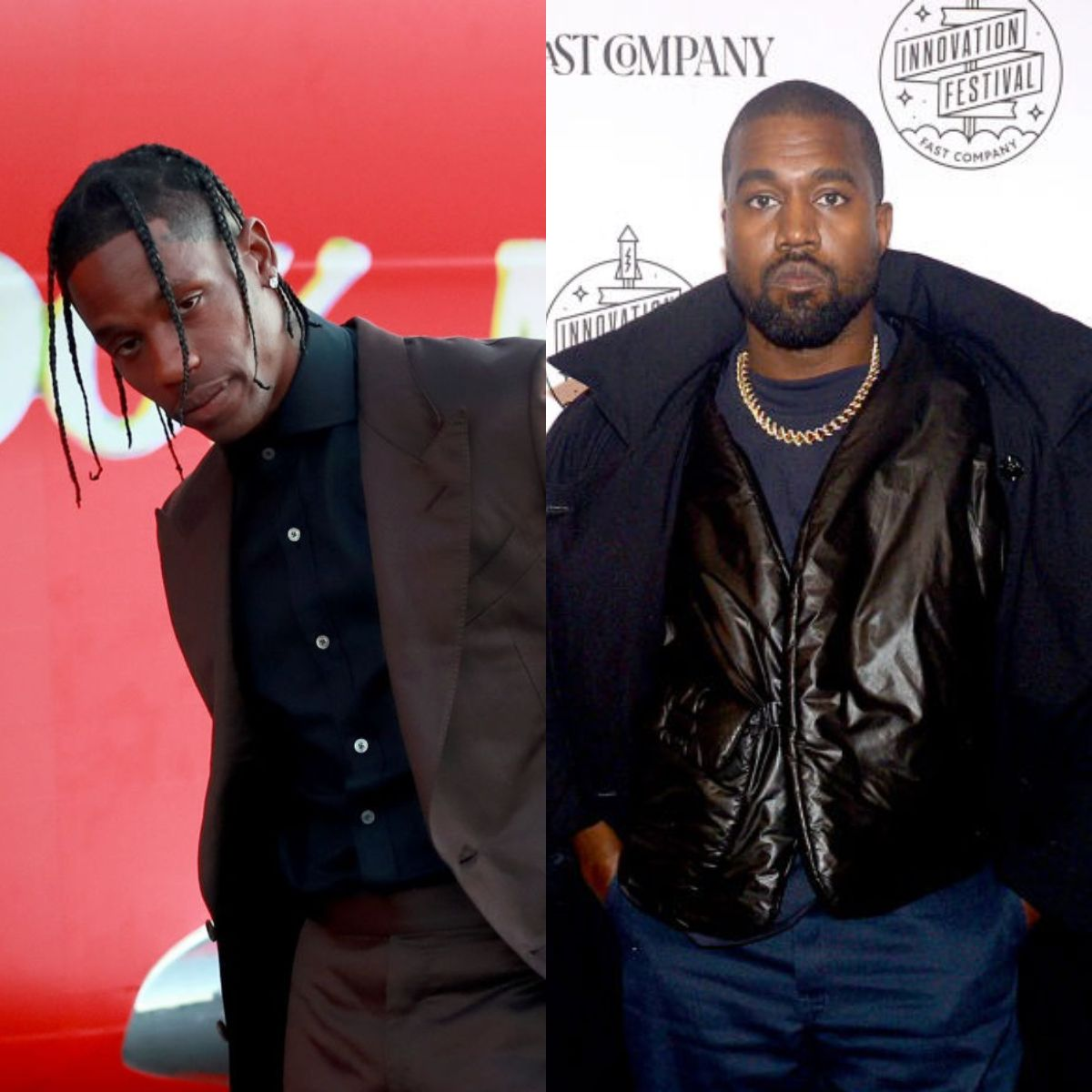 Kanye West And Travis Scott Release A Hard Hitting Music Video Inspired By The Blm Movement In 2020 Music Videos Kanye West Kanye