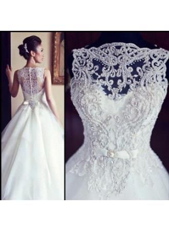 Special Design Bridal Gowns On Sale 2104 Designer Beading Tulle