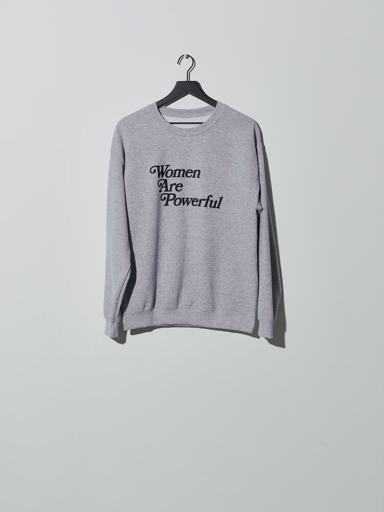 Gray gender neutral sweater