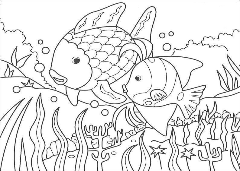 malvorlagen fische hecht  aglhk