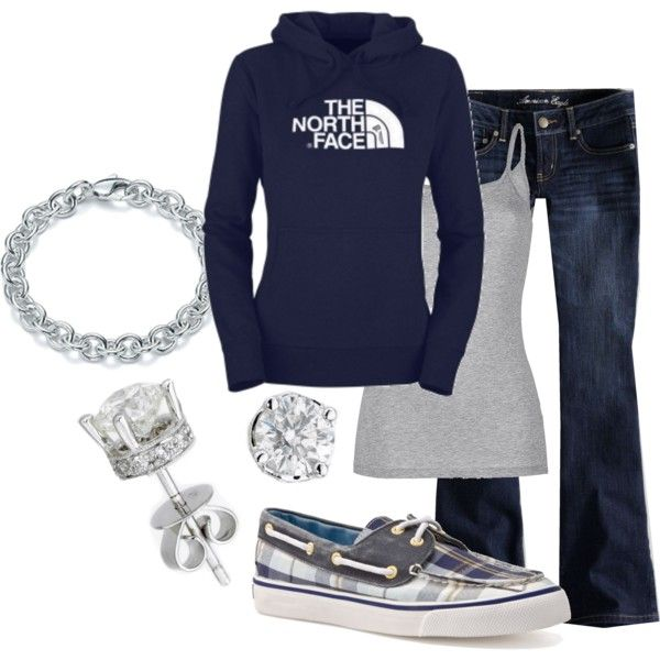 Love the sweatshirt and the bling...