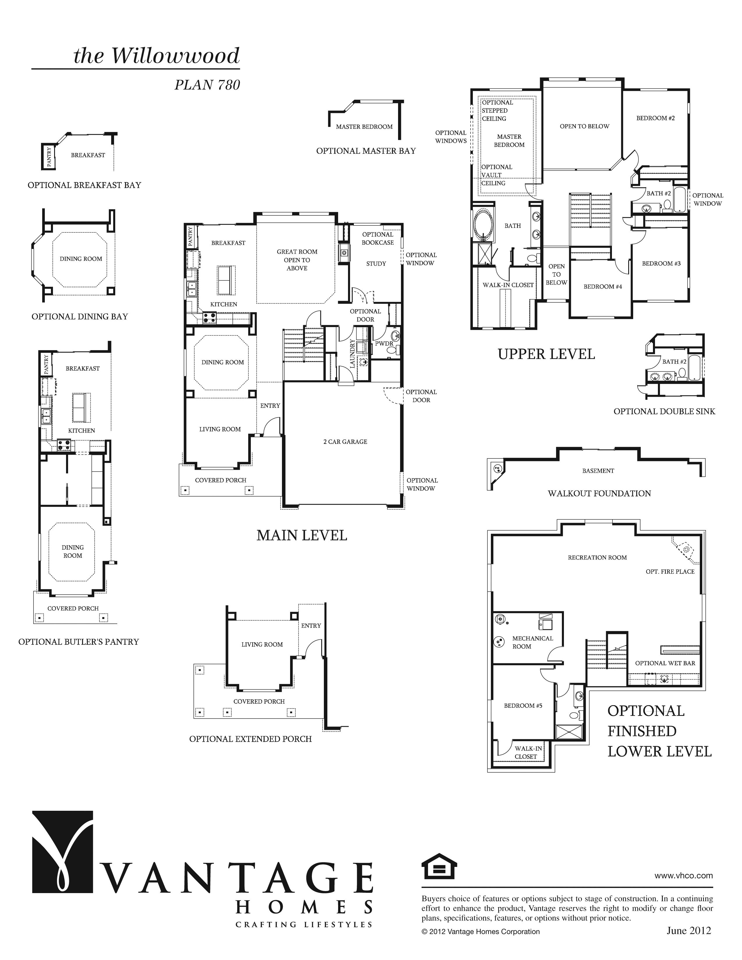 Willowwood Floorplan Layout Floor Plans Space Planning House Elevation