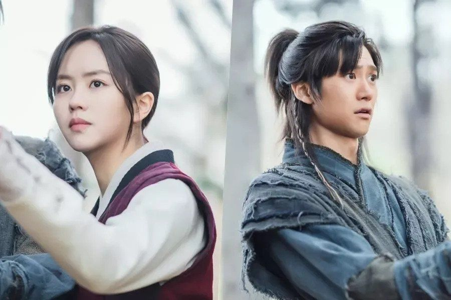 "Kim So Hyun Tries To Teach Na In Woo How To Fight In ""River Where The Moon Rises"""