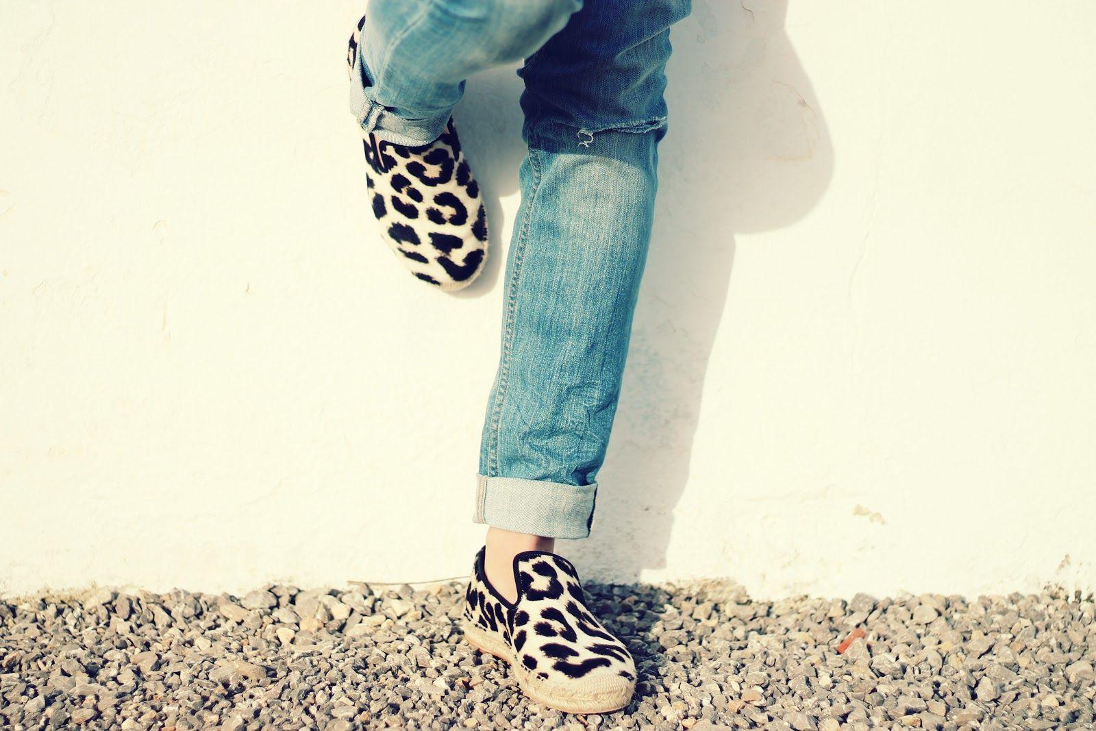 Chaussures léopard