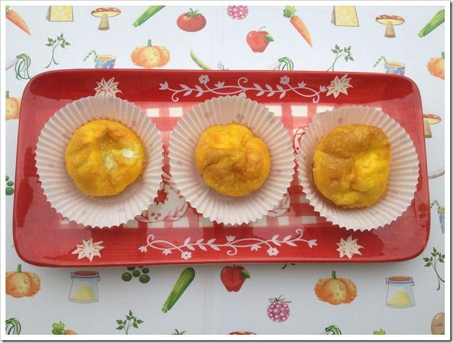 Frittatine nei muffin!!