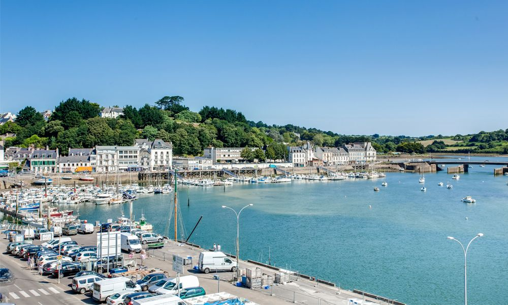 Hotel Le Goyen in Audierne, France #hotel #brittany #seaview