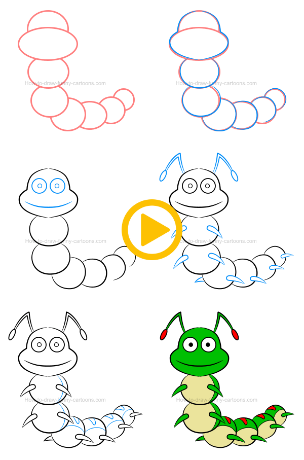 Pin By Cartoons On Cartoons Art Drawings For Kids Easy Drawings Cute Easy Drawings