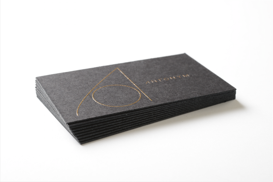This Is A Double Mounted Business Card With Raised Ink On A Nice Black Paper Stock Contact Us Today Business Cards Business Card Japan Printing Business Cards