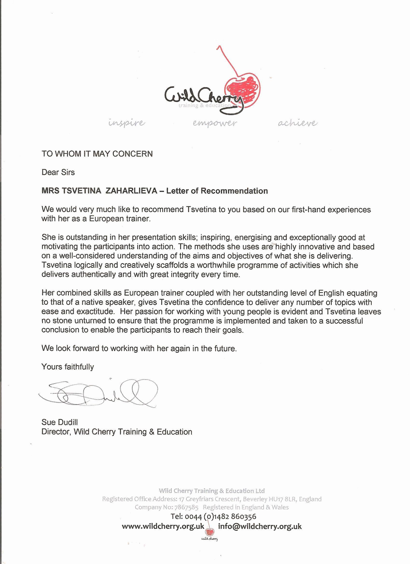 30 Mentoring Letter Of in 2020 Letter of