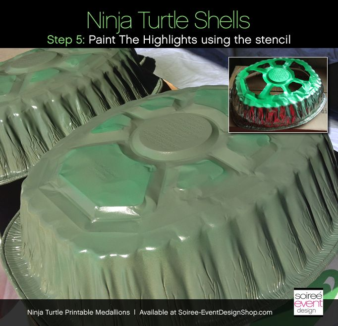 Diy teenage mutant ninja turtle party decorations turtle shells diy teenage mutant ninja turtle party decorations turtle shells soiree event design solutioingenieria Image collections