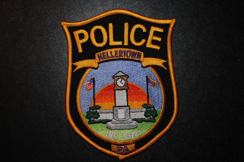 Hellertown Police Patch Northampton County Pennsylvania Current Issue Police Patches Police Vehicle Logos