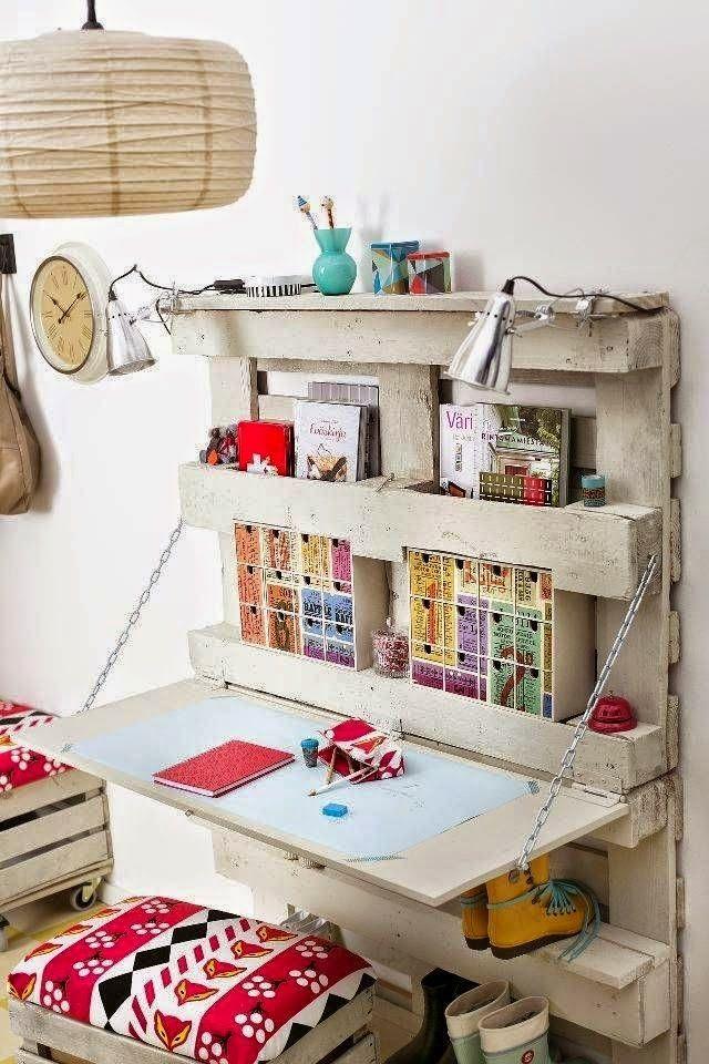 d co maison un coin bureau de r cup comment ranger objets trouv s et espace de travail. Black Bedroom Furniture Sets. Home Design Ideas