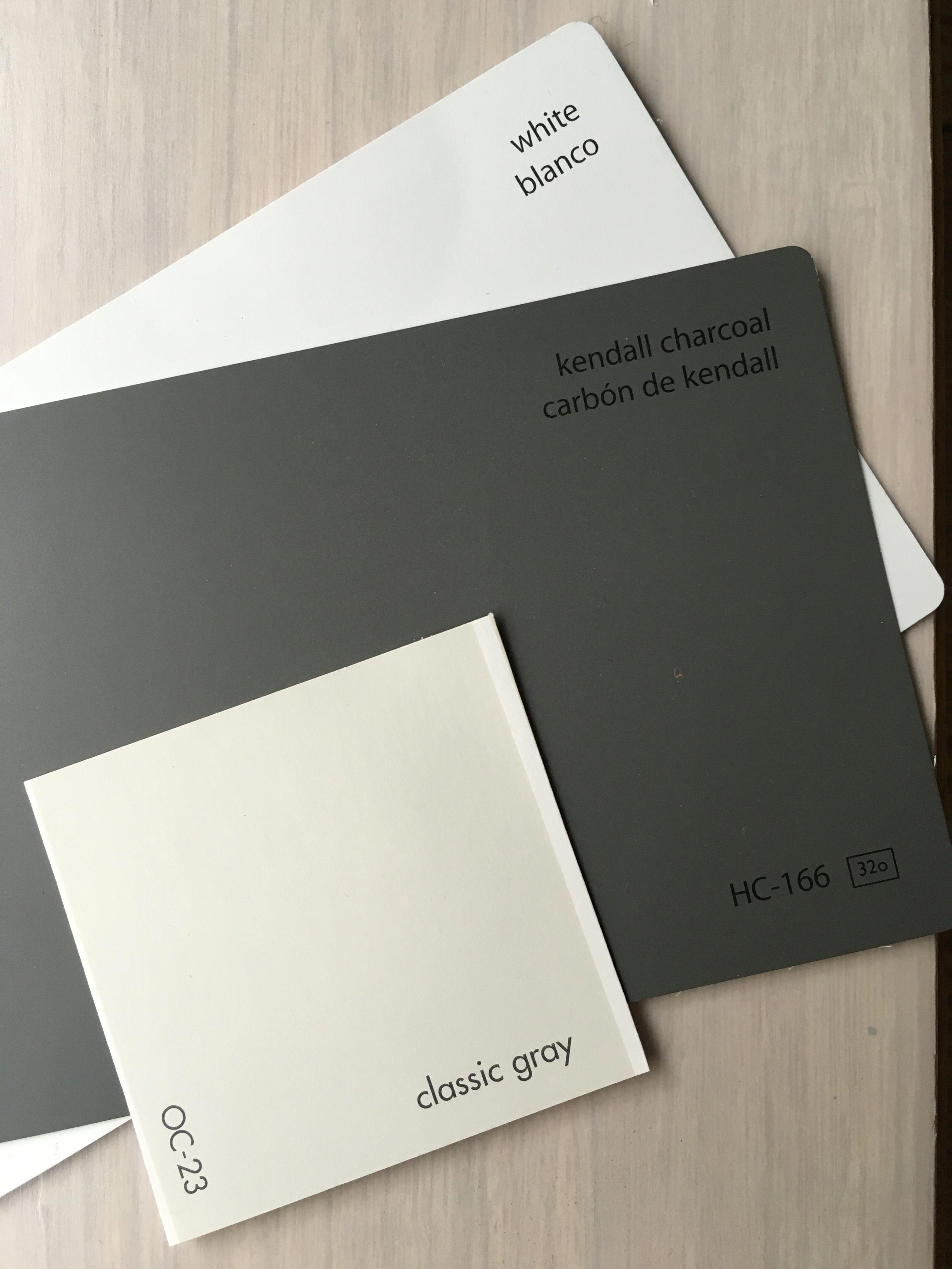The main color palette: Benjamin Moore paint colors. Walls/paneling: Classic Gra...,  #Benjamin #Classic #Color #colors #gra #Main #mainBathroomideascolorpalettesgray #Moore #Paint #Palette #Wallspaneling