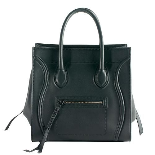 e5c8714fb7 Soft Leather · The Celine  Phantom  Luggage Tote carried by the A-listers  and appealing to