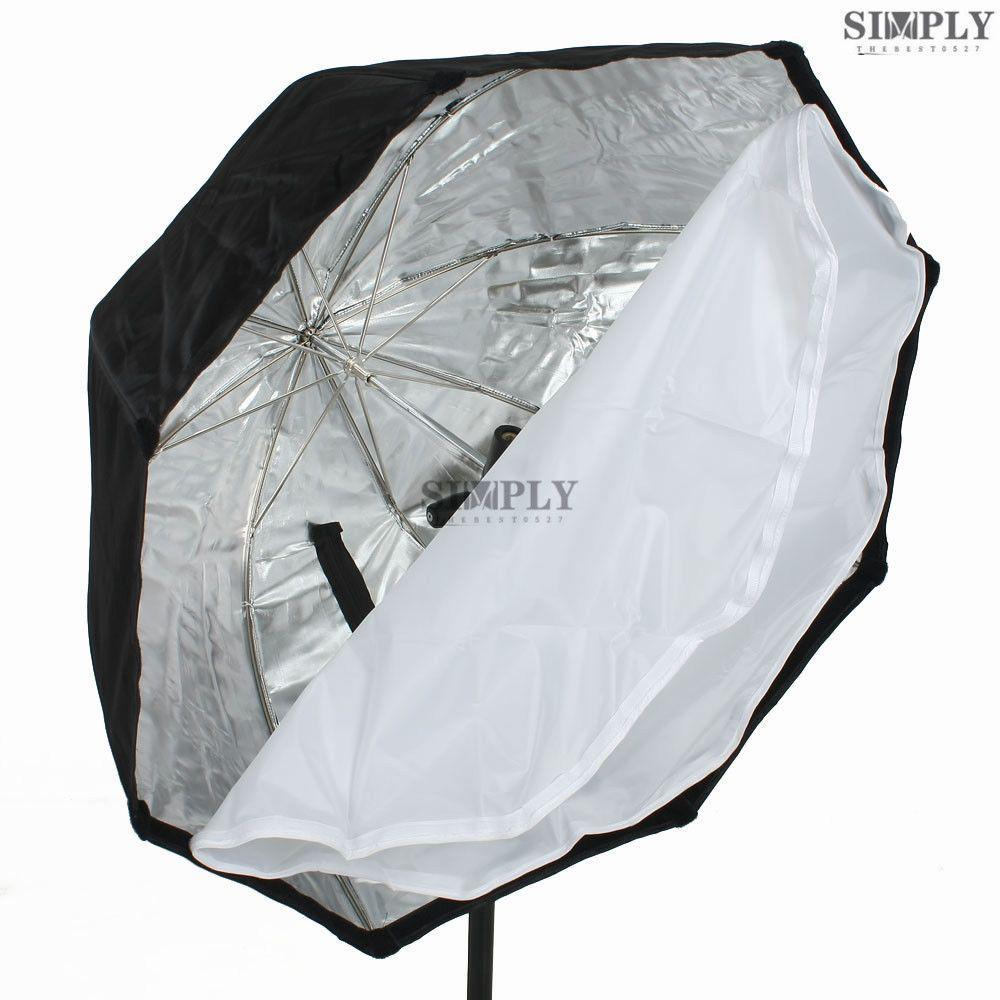 30  Octagon Speedlite Umbrella Softbox Soft Box for Canon NIKON Flash Speedlight