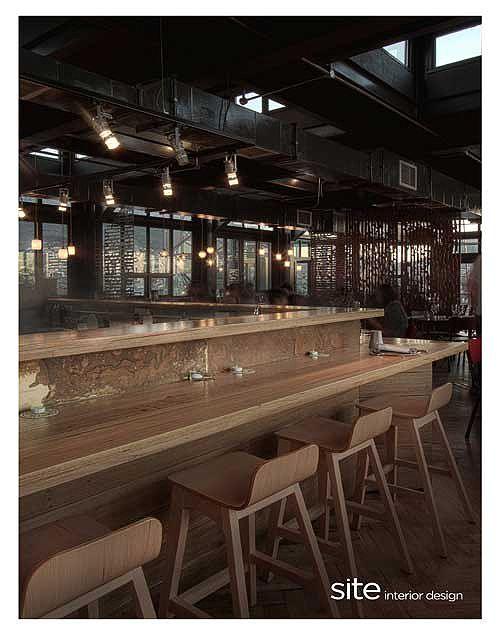 Pot luck club woodstock portfolio site interior